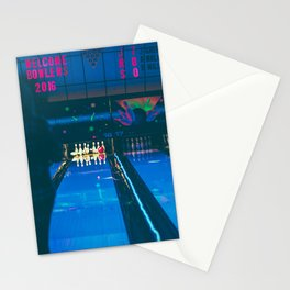 Bowling Stationery Cards