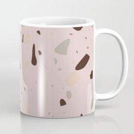 Terrazzo pattern earth pink Coffee Mug