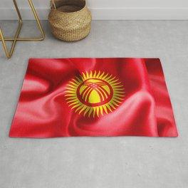 Kyrgyzstan Flag Rug