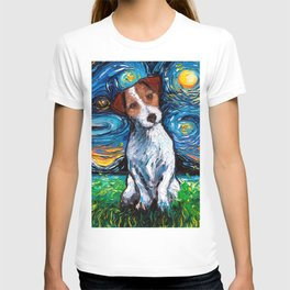 Jack Russel Terrier Night T-shirt