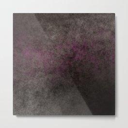 Dark gray brown background Metal Print