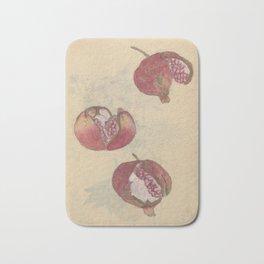Pomegranates Badematte