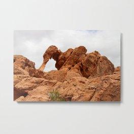 Elephant Rock - Valley of Fire Metal Print