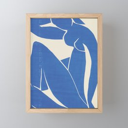 Blue Nude by Henri Matisse  Framed Mini Art Print