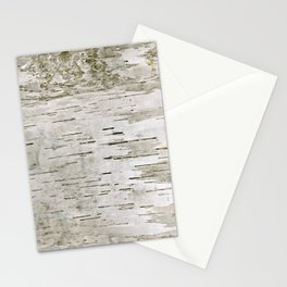 Birch Bark Skin Stationery Cards