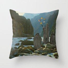 Useful Gems Throw Pillow