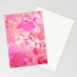 Lipsticks Mixtures- Pink Stationery Cards