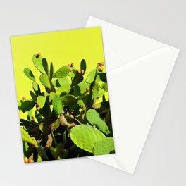 Cactus fruit & yellow Stationery Cards