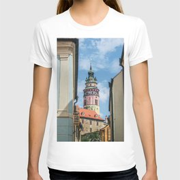 City of Croatia | Zagreb Simple Colorful Buildings Old World Medieval Architecture Beauty T-shirt