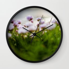 Green in Kinvara Wall Clock