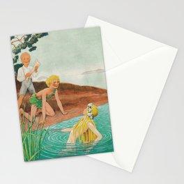 Magic Horn By Rudolf Koivu Stationery Cards