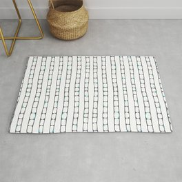 Abstract ladders Rug