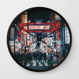 Tokyo 57 Wall Clock