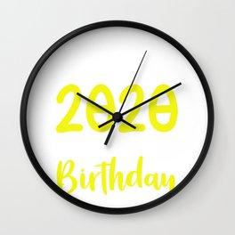 Leap Year Birthday February 29th 2020 Gift Wall Clock