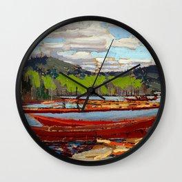 Tom Thomson Bateaux Wall Clock