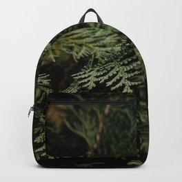 Wild Conifer | Close Up Botanical Photography Backpack