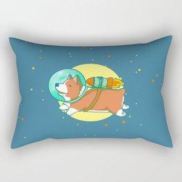 Space Corg Rectangular Pillow