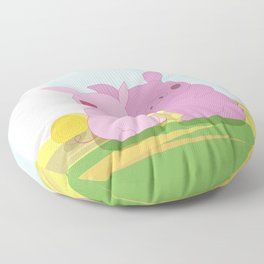 Love you BIG time Floor Pillow