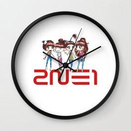 2ne1 Kpop Wall Clock