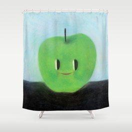 Happy Happy Granny Smith Shower Curtain