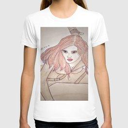 Scarlett Johansson by Double R T-shirt