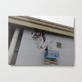 Downtown LA Mural Metal Print