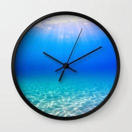 One Deep Breath Wall Clock