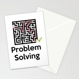 Problem Solving Maze Stationery Cards