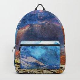 haleakala-crater-maui-hawaii Backpack