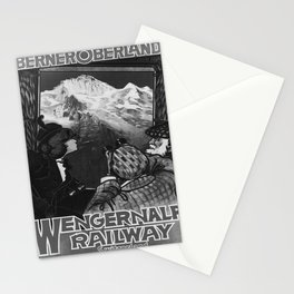Affiche Wengeralp Railway Stationery Cards