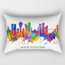 Nur-Sultan Kazakhstan Skyline Rectangular Pillow