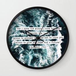 Jeremiah Ocean Wall Clock
