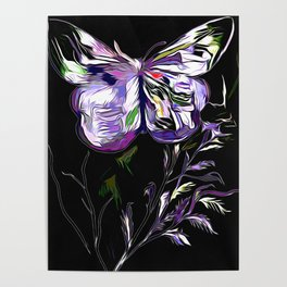 A Butterfly Of The Rainbow Poster