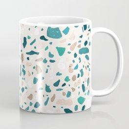 Terrazzo Turquoise Pattern Coffee Mug