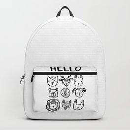 Say Hello Backpack