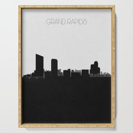 City Skylines: Grand Rapids Serving Tray