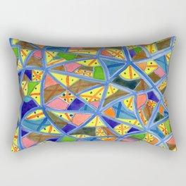Celestrial Archaic Pattern Rectangular Pillow