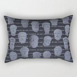 Wisdom Beard Wisdom Rectangular Pillow