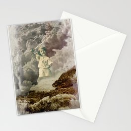 Kid With A Sword Stationery Cards