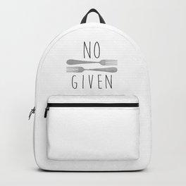 No Forks Given Backpack