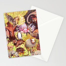 all animals Stationery Cards