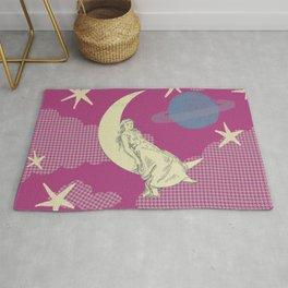Chilling in the Clouds Rug