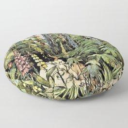 Jessie Willcox Smith - A Child's Garden Of Verses - Digital Remastered Edition Floor Pillow