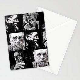 BUKOWSKI - 4 faces Stationery Cards