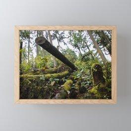 chopped down Framed Mini Art Print