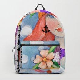 Art Girl  Backpack