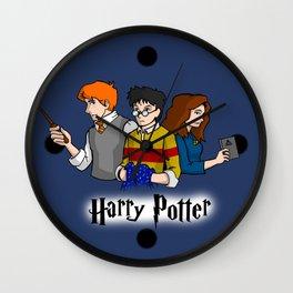 Harry Potter Team of 3 Wall Clock