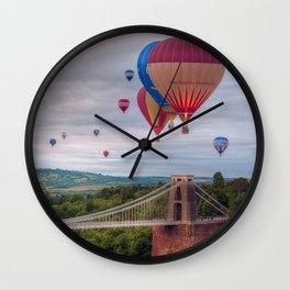Bristol Balloon Fiesta Wall Clock
