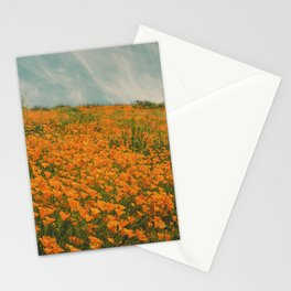 California Poppies 016 Stationery Cards
