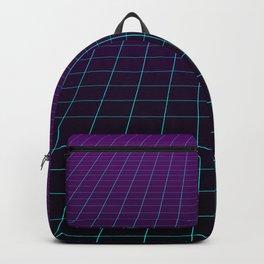 Minimalist Retro Vibes Gridlines Backpack
